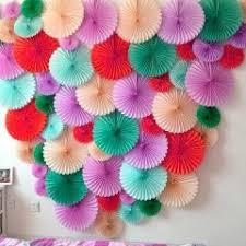 Paper Craft Birthday Decorations