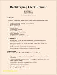 Resume Templates Bookkeeper Best Of Bookkeeping Sample Wondrous With Quickbooks Experience Full Charge Template No 1400
