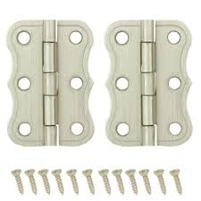 Non Mortise Cabinet Hinges Nickel by Full Overlay Cabinet Hinges Cabinet Hardware The Home Depot