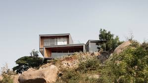 100 Architects In Hyd Lakehouse Is Formed Of Granite Boxes On A Clifftop In Dia