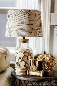 vintage deko nachttischle spulen retro ideen fürs