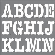 Big Alphabet Letter Templates DLDownload