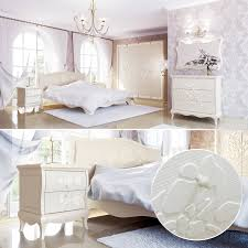 lea romantisches schlafzimmer komplett set landhausstil cremeweiß