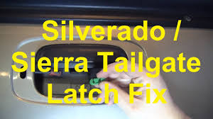 100 Chevy Truck Tailgate Parts Avalanche Assembly