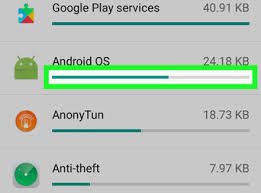 Check Data Usage on Android