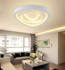 new modern led ceiling lights for living room bedroom triangle