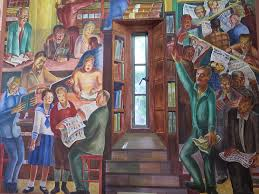 Coit Tower Murals Book by Walking Tour Tells Story Of San Francisco U0027s Improbable Rise As A