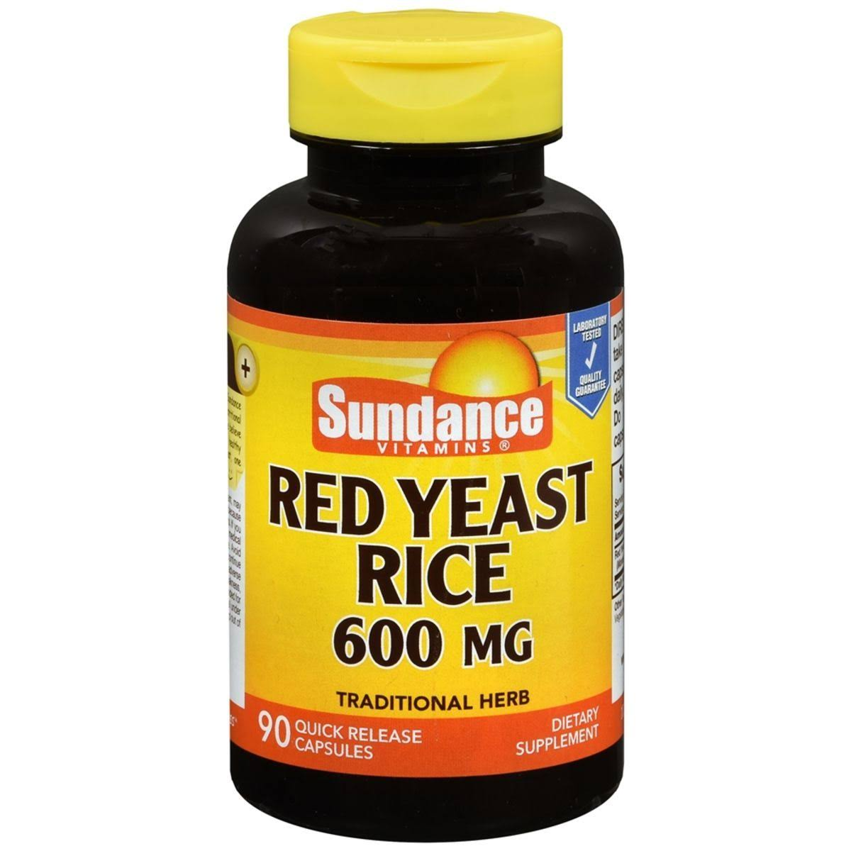 Sundance Red Yeast Rice Supplement - 90ct