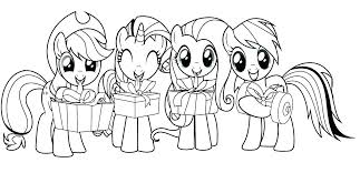 My Little Pony Coloring Pages Princess Celestia And Luna Rainbow Dash