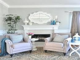grey and light blue living room home design