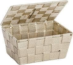 aufbewahrungskorb box mit deckel badezimmer aufbewahrung