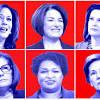Biden praises potential veep picks Whitmer and Abrams