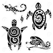 Stickers Tortue Marine 2 TURTLES Pinterest Tattoos Polynesian