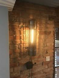 details zu unikat le im industriedesign 52cm loft 30er jahre wohnzimmer diele wandle