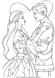 BARBIE COLORING PAGES AND KEN TO PRINT COLOR