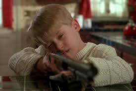 Home Alone Gun Gif Фото база