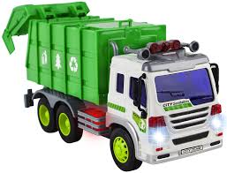 100 Trucks For Girls Friction Powered Garbage Truck Toy Vehicle With Lights And Sounds