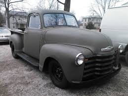 CHEVROLET 1952 CHEVY TRUCK -RAT ROD -HOT ROD BARN FIND PROJECT 3100 ...