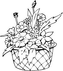 Free Flower Colouring Sheets Coloring Pages Butterflies Flowers For Adults