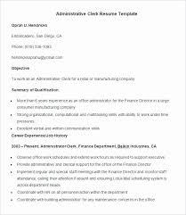 Sample Resume For Office Assistant With No Experience Glamorous Administrative 2017