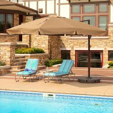 Treasure Garden Patio Umbrella Canada by Outdoor Offset Patio Umbrella Costco For Your Patio Design Ideas