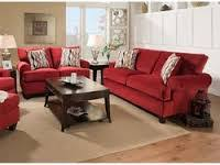 badcock furniture living room sets corinthian living room red