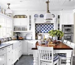 Elegant Rustic Kitchen Ideas With White Cabinet