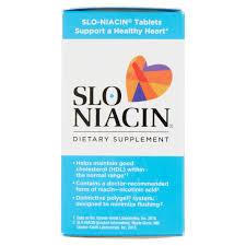 Slo Niacin Tablets 500 mg 100 count Walmart