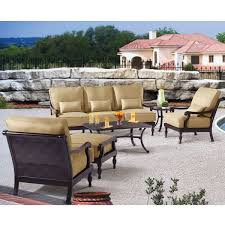 Portofino Patio Furniture Replacement Cushions by Seating Sets Costco