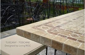 78 outdoor patio dining table italian mosaic marble tuscany