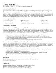 Accounting Resume Objectives Sample Objective Student