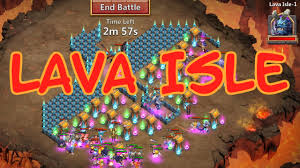 Pumpkin Duke Castle Clash 99 castle clash new update lava isle stage 1 first look