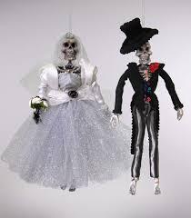 Lori Mitchell Halloween Sale by Katherine U0027s Collection 2 Halloween Bride U0026 Groom Skeleton Sets