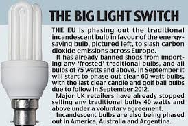 eco bulbs a health hazard for babies and due to