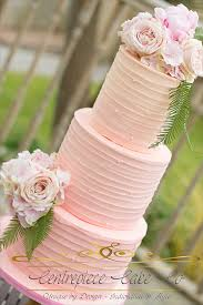 Buttercream Rustic Naked Wedding Cake Fresh Flowers Ombre Pink By Centrepiece Cakes Available Across