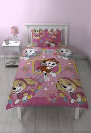 Girls Paw Patrol Bedding Set