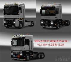 99 Youtube Truck Renault Mega Pack ETS 2 Mods