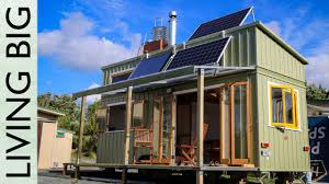 100 Self Sustained House Luxurious Tiny Home In New Zealand Is Offgrid And 100 Selfsustaining