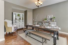 Rustic Industrial Decor Attractive Dining Room Winsome Home Handmade