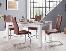 homexperts essgruppe zabona set 5 tlg 4 stühle und 1 tisch