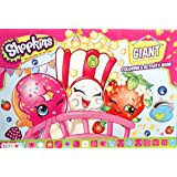 Shopkins Giant Coloring And Activity Book