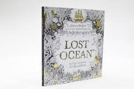 Lost Ocean An Inky Adventure Colouring Book Amazoncouk Johanna Basford 9780753557150 Books