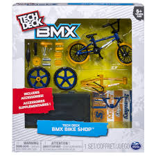 Tech Deck Finger Skateboard Tricks by Tech Deck Bmx Bike Shop With Accessories Sunday Bikes Blue