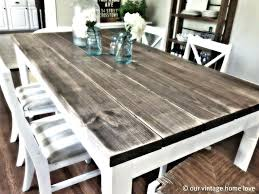 Distressed Wood Kitchen Tables Large Size Of Table For Fantastic Dining
