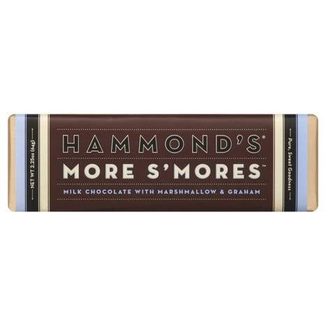 Hammonds More S'Mores Milk Chocolate Bar