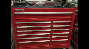 Waterloo 7 Drawer Tool Cabinet by Harbor Freight 44 U0027 Tool Chest Review Youtube