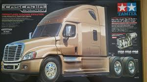 Tamiya RC 1/14 Cascadia Freightliner Semi Truck +MFC-01 Unit +Futaba ...