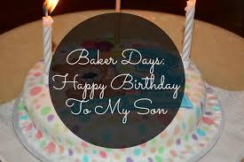 Baker Days Birthday Cakes Happy Birthday London Beauty