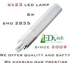 gx23 led l 6w 600 lm pl l gx23 2 pin cfl led bulb gx23