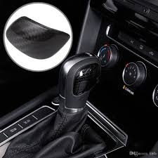 Car Gear Head Shift Knob Protection Cover Trim Sticker For VW Passat ...